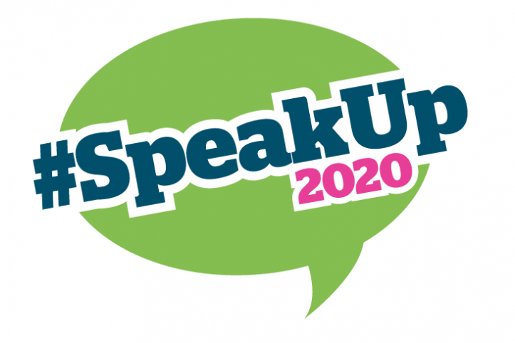 #SpeakOut2020 logo
