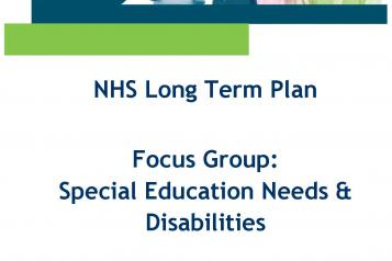 NHS LTP SEND Consultation front cover
