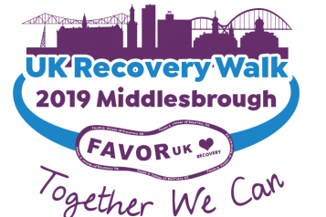 Recovery Walk event front cover