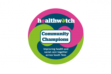 Healthwatch Community Champions logo