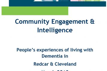Experiences of Living with Dementia front cover