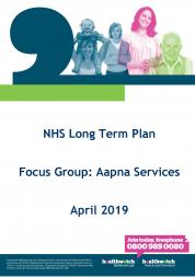 Aapna Services Report front cover