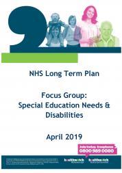 NHS LTP SEND Consultation front cover