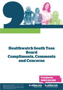 Compliments, comments & complaints front cover