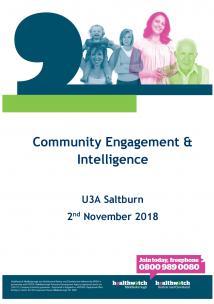 U3A Report November 2018