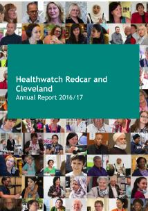 Annual Report front cover 2016-17